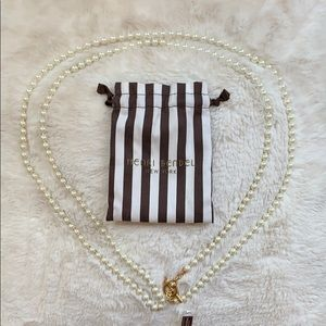 Henry Bendel 72 inch Beautiful Pearl Necklace.
